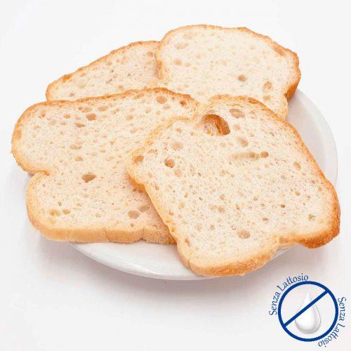 Pane da Toast Senza Glutine Senza Lattosio